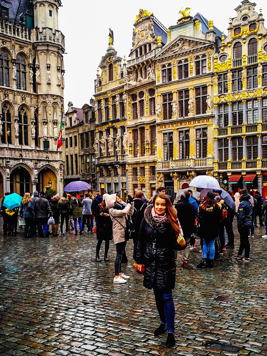 Spacerem po Brukseli ♥