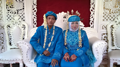 Pernikahan Gion Adi Eka Pranda dan Nur Azizah Satibih