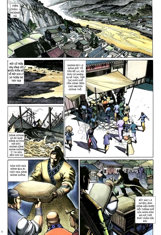 Anh hùng vô lệ Chap 15: Hổ thét long gầm người cạn chén  trang 4