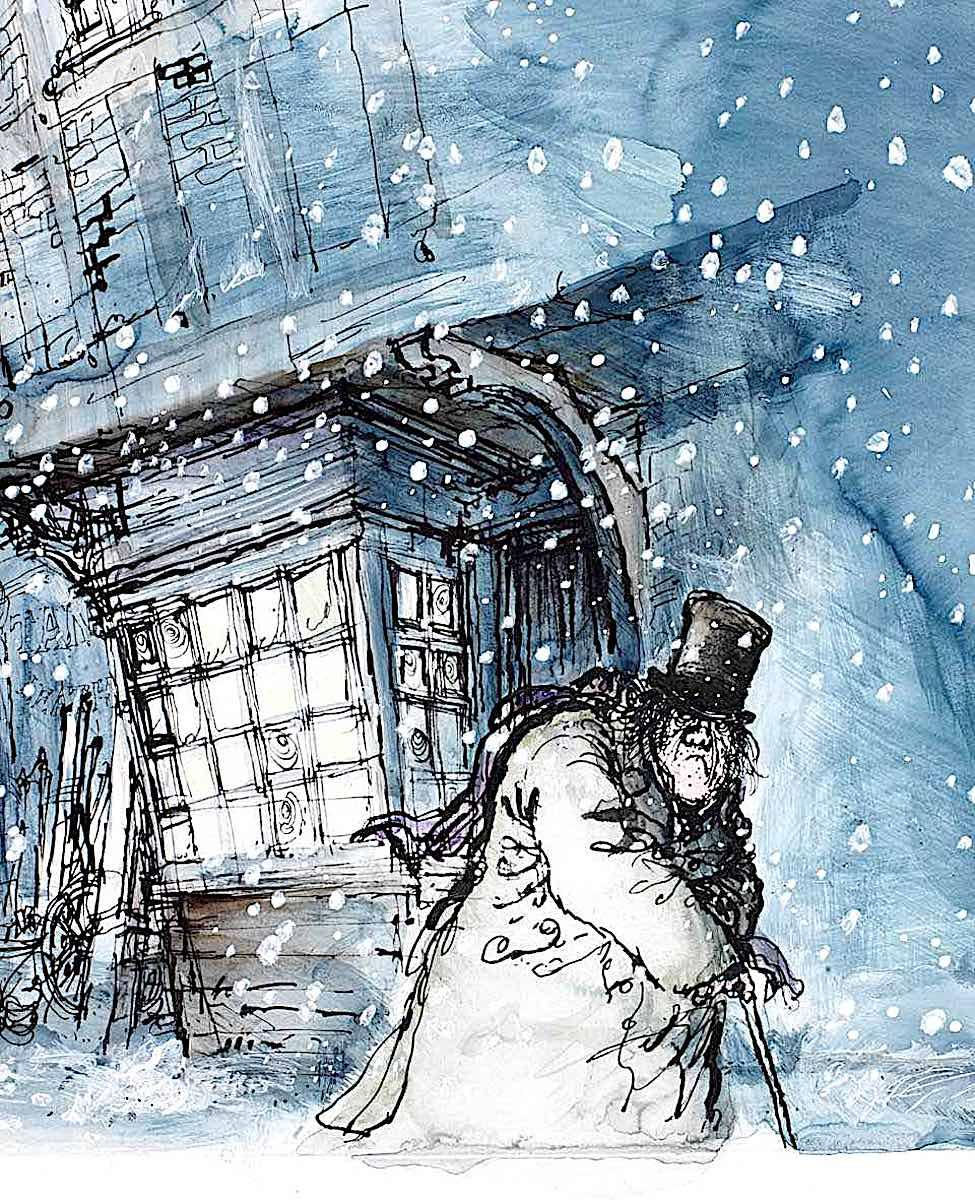 Ronald Searle Scrooge
