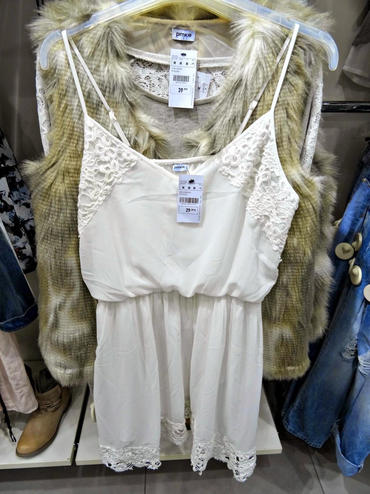 Pimkie White Dress