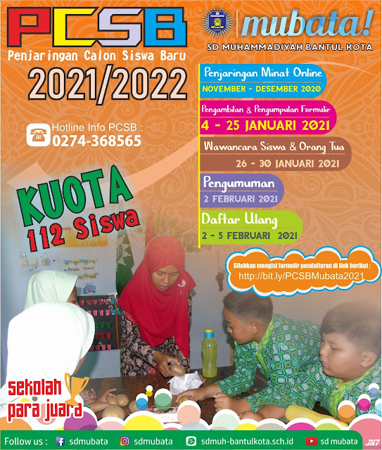 PROSEDUR PENJARINGAN SISWA BARU 2021/2022