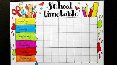 Hsslive Time table