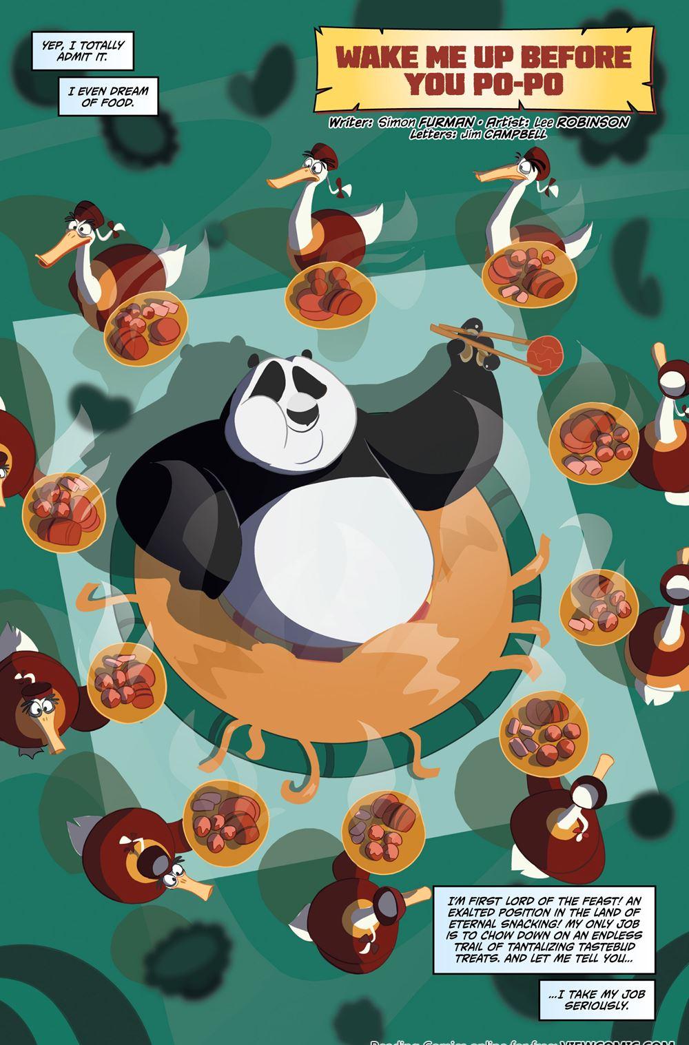Porno komiks kung fu panda