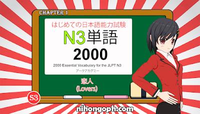N3 Vocabulary 恋人(Lovers)