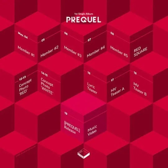 New Girl Group, Red Square Reveals Teaser to Debut Release Schedule