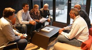 Una comisión de diputados llegó a Chile para estudiar políticas de seguridad