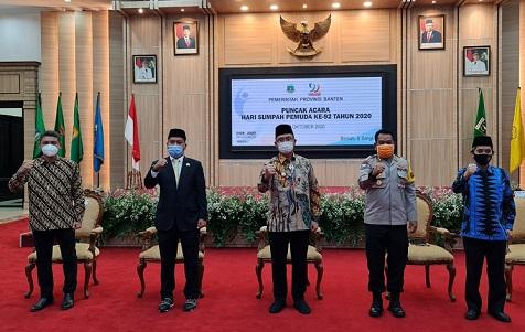Hari Sumpah Pemuda, Polda Banten Ajak Pemuda Cegah Penyebaran Covid-19