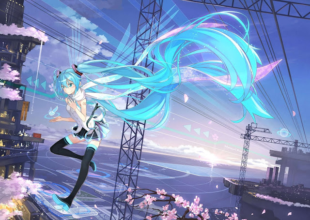 Hatsune Miku HD Wallpaper