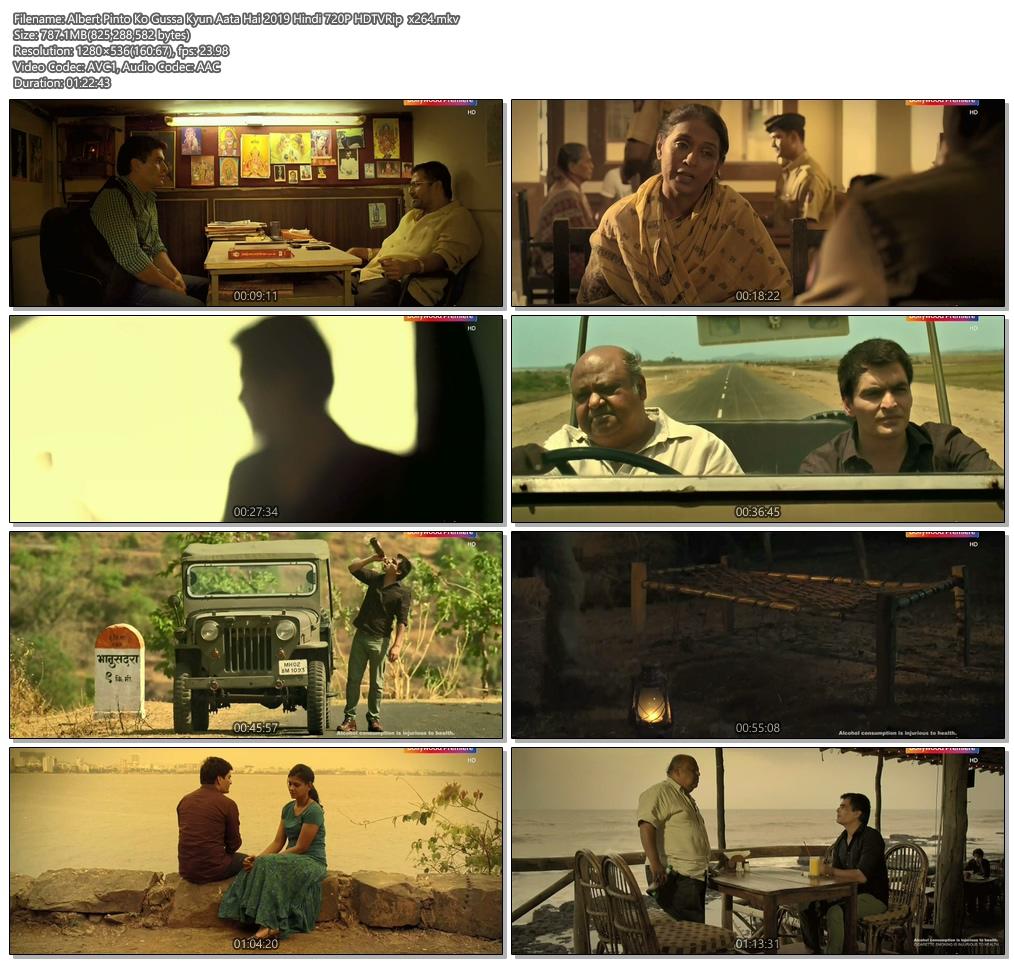 Albert Pinto Ko Gussa Kyun Aata Hai 2019 Hindi 720P HDTVRip x264 | 480p 300MB | 100MB HEVC Screenshot
