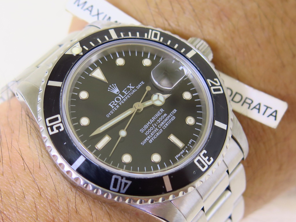 ROLEX SUBMARINER DATE - ROLEX 16800 - YEAR 1980