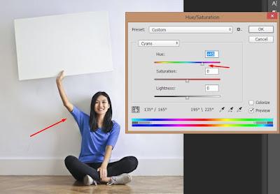 Cara Mengubah Warna Mockup Desain Baju di Photoshop