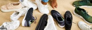Memilih sepatu yang nyaman