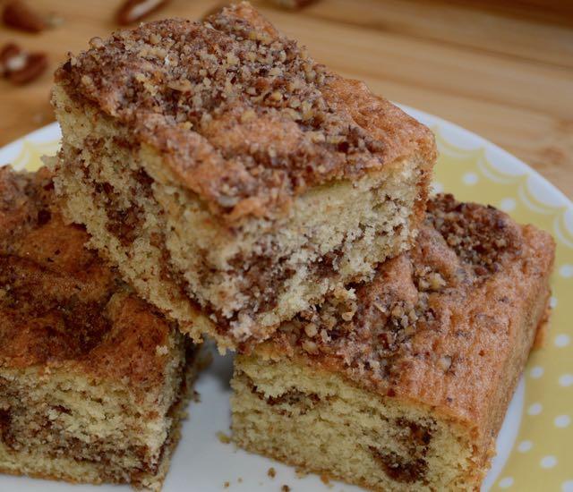Pecan Sponge Cake
