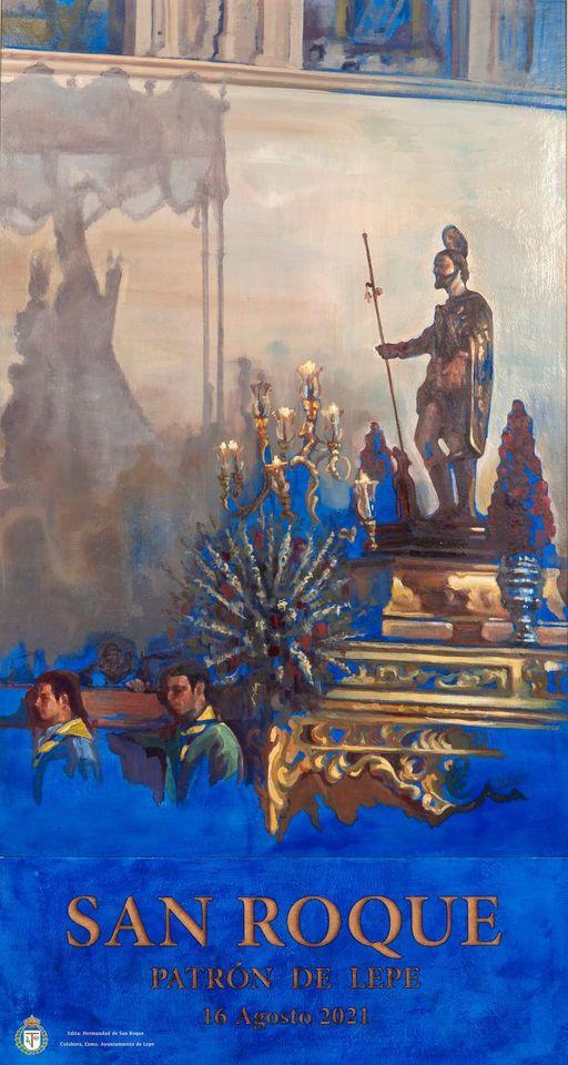 Cartel del Día de San Roque (Lepe) 2021