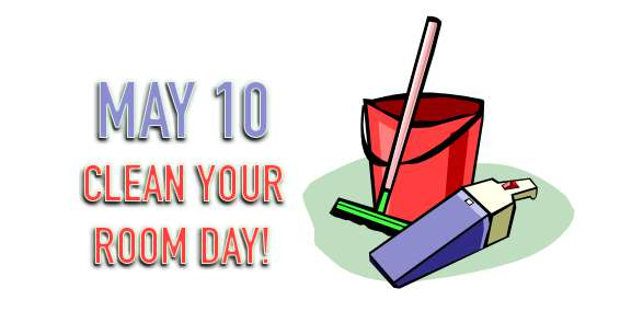 National Clean Your Room Day Wishes Photos