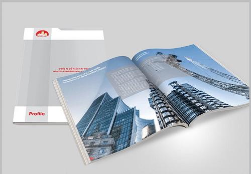 Hình ảnh mẫu profile giới thiệu công ty xây dựng đẹp