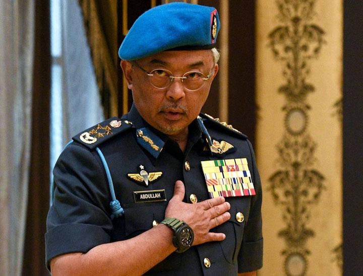 DYMM Yang Di-Pertuan Agong Al Sultan Abdullah