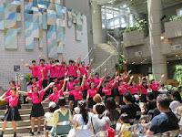 県立弥栄高等学校によるパフォーマンス