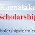 Karnataka Scholarship 2018 -19 Form, Scheme, SC OBC Minority Students