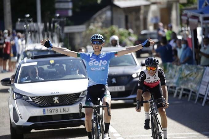 Edu Pérez - Landaluce se impuso en la etapa reina de la Vuelta a Zamora