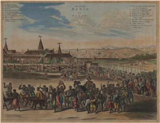 Benin-City Description de l'Afrique 1686