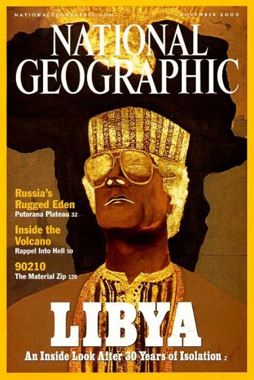 National Geographic November 2000