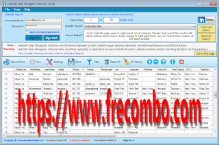 LinkedIn Sale Navigator Extractor v4.0.2092 Cracked