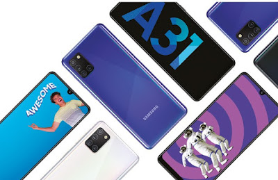 Samsung Galaxy A31 - Price & Specifications | Launched in India