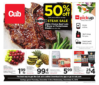 ⭐ Cub Foods Ad 12/11/19 or 12/12/19 ⭐ Cub Foods Weekly Ad December 12 2019