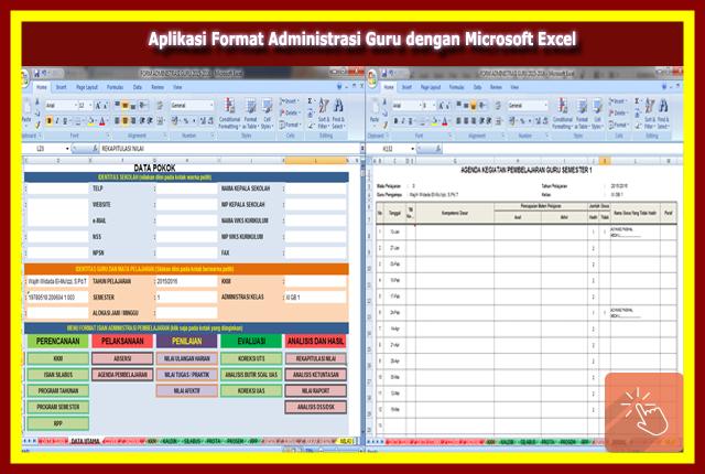 Aplikasi Format Administrasi Guru Versi Terbaru