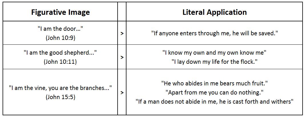 literal analogy