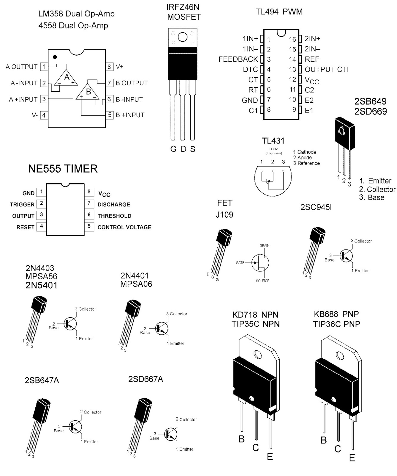electro help  jbl ma6004 - marine series - schematic diagram - semiconductor lead details