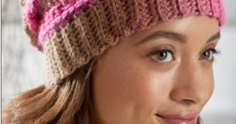 Free Crochet Textured Reversible Beanie Pattern Using Red