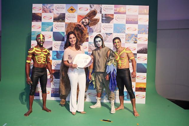 Show temático Australia para o momento de premiação da convenção de vendas da Ajinomoto, Hotel Bourbon Foz de Iguaçu PR.