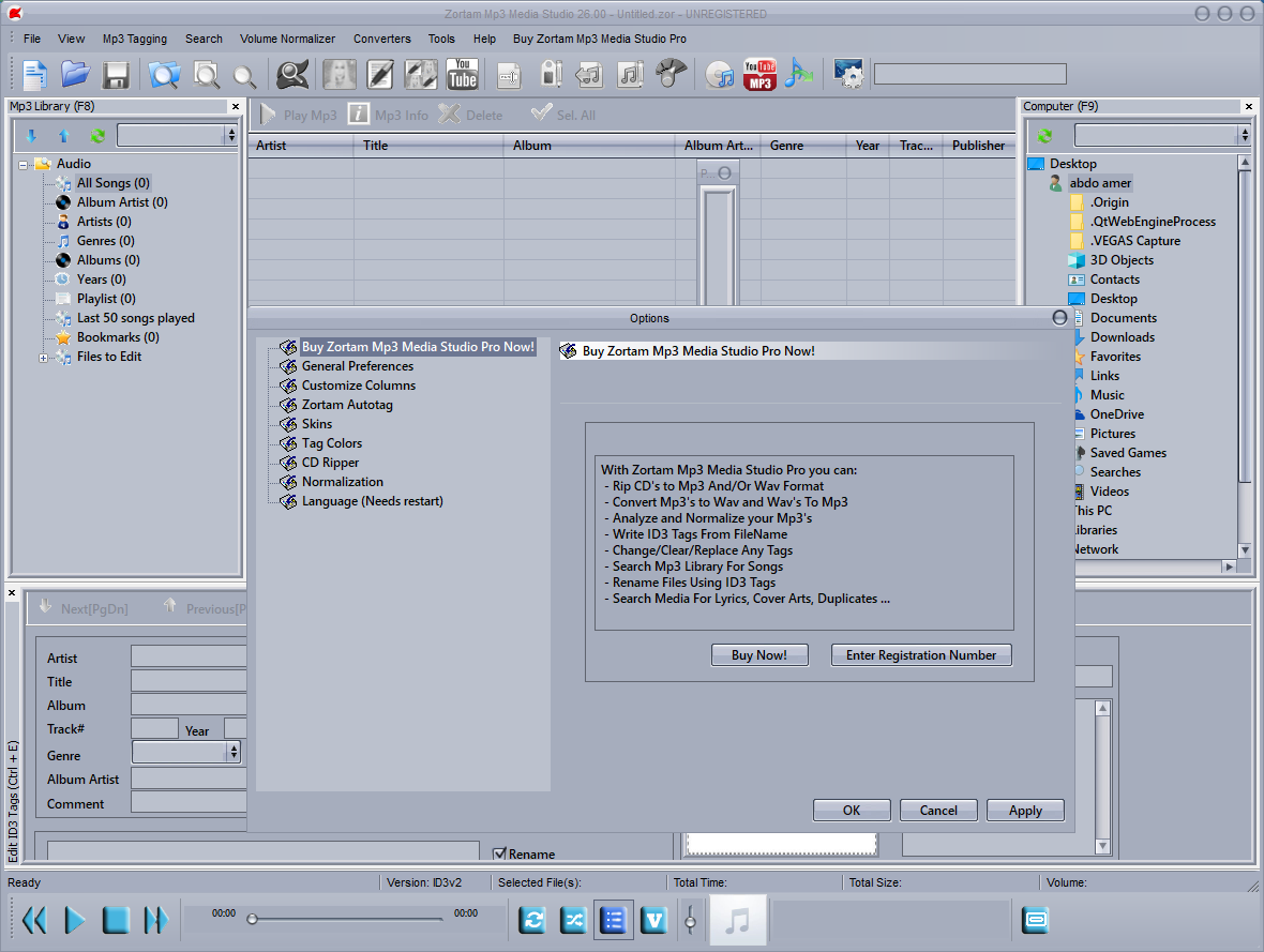Zortam Mp3 Media Studio 26.00