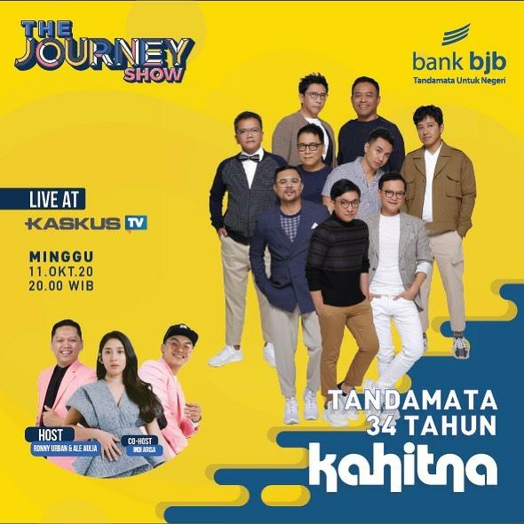 Kahitna Bakal Tampil di Konser The Journey Volume 2 bank bjb