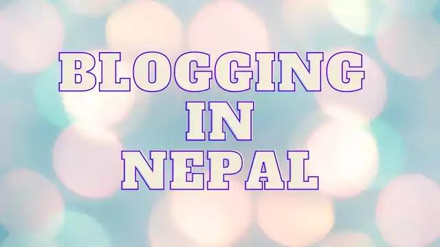 start blogging in nepal in 2021