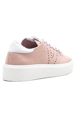 pudra spor kadın ayakkabısı