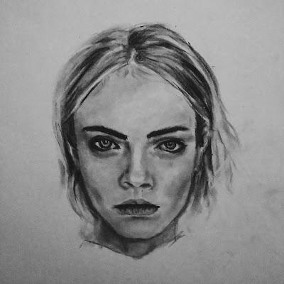 Cara Delevingne Sketch
