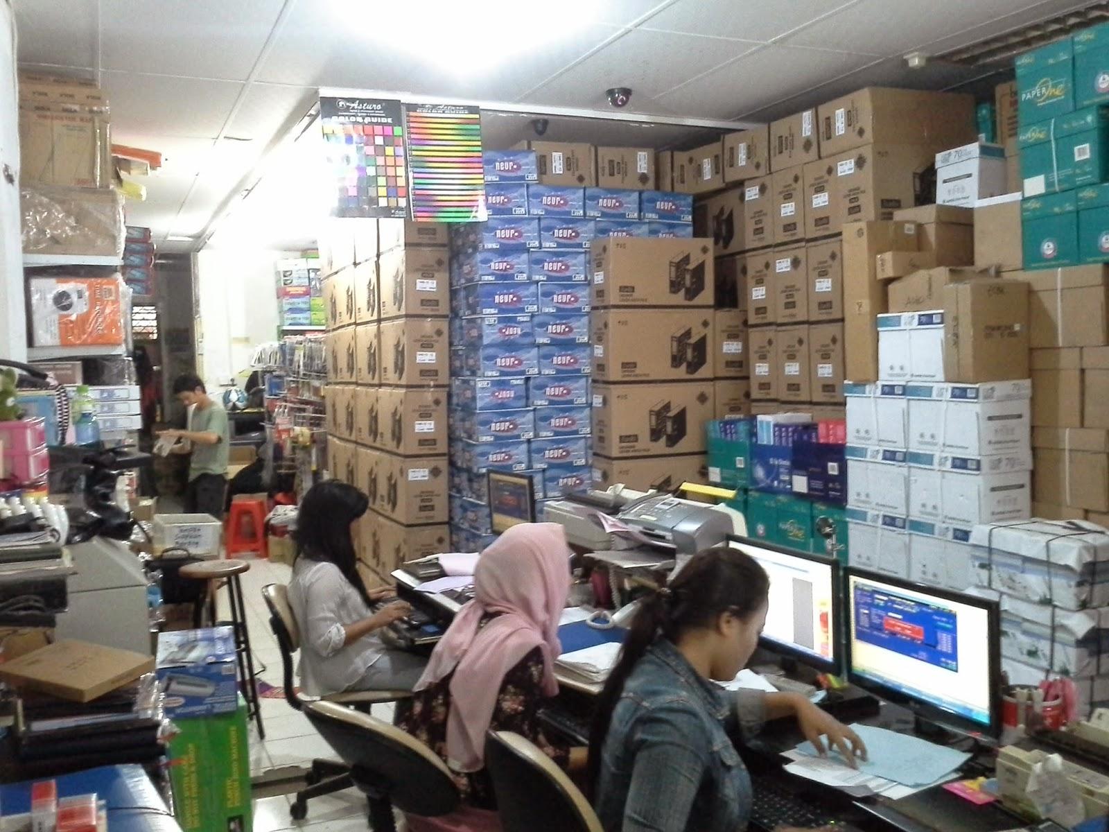 Toko Bina Mandiri Sedia ATK Lengkap dari Merek Stationery Terkenal