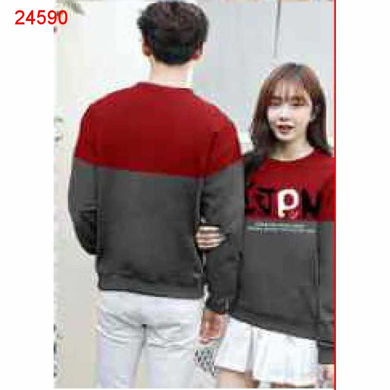 Jual Sweater Couple Sweater IJPN Merah - 24590