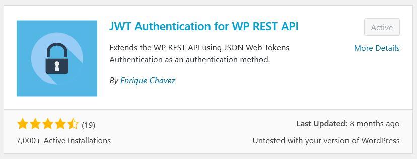 Mengatur WP REST API & JWT AUTH KEY