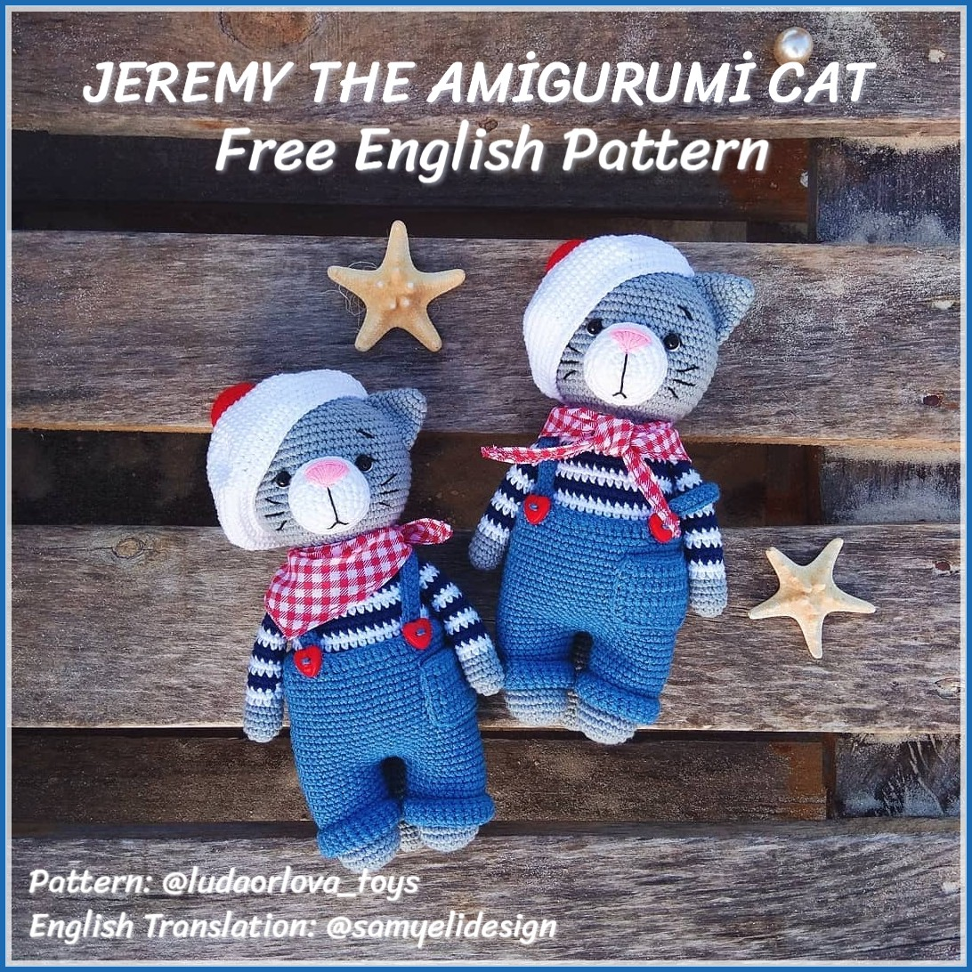 Easy Crochet Cat Patterns - Free Amigurumi Patterns • DIY & Crafts | 1092x1092