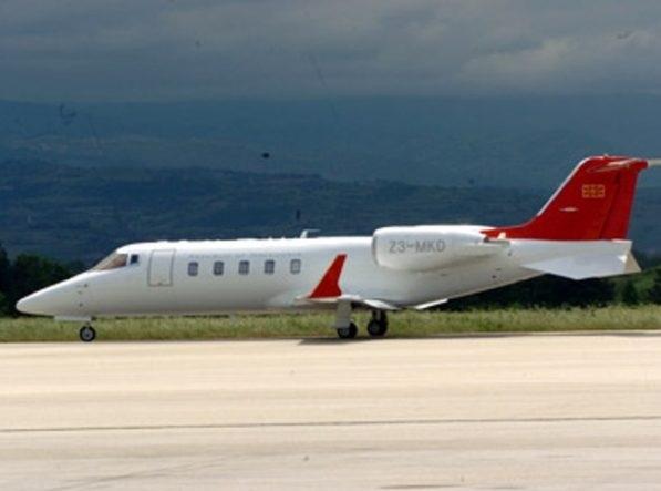 North Macedonia's Government plane wheel blocked; emergency landing on the runway