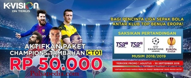 TSB Channel Khusus Champions League dan Europa League