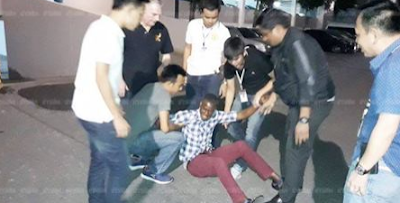 A NIGERIAN MAN CAUGHT WITH DRUGS IN THAILAND
