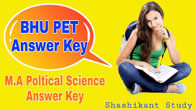 BHU-M.A-Poltical-Science-Answer-key
