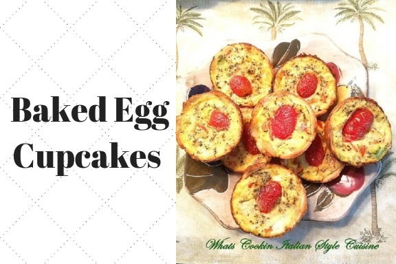 these are individual baked egg cupcakes with all kinds of vegetables in them. These also have some cooked bacon, cooked sausage and cooked ham in them and some are all vegetable cupcakes all baked  there are 12 baked egg cupcake varieties all in one pan