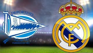 مشاهدة مباراة ريال مدريد و ديبورتيفو الافيس مباشر الآن الدوري الاسباني